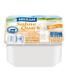 Produktabbildung: MILRAM Sahnequark 40% F.i.Tr. 250 g