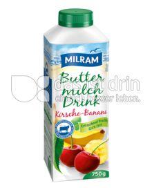 Produktabbildung: MILRAM Buttermilch Drink Kirsche-Banane 750 g