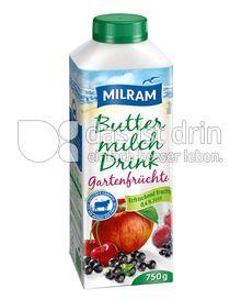 Produktabbildung: MILRAM Buttermilch Drink Gartenfrüchte 750 g