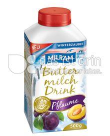 Produktabbildung: MILRAM Buttermilch Drink Pflaume 750 g