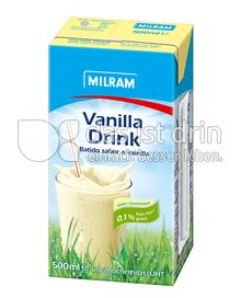 Produktabbildung: MILRAM Vanilla Drink 500 ml