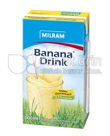 Produktabbildung: MILRAM Banana Drink 500 ml
