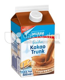 Produktabbildung: MILRAM Frischer Kakao Trunk 500 ml