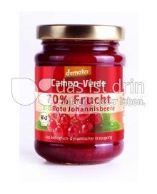 Produktabbildung: Campo Verde 70% Frucht Johannisbeere 200 g
