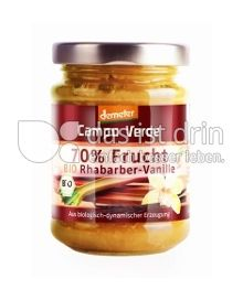 Produktabbildung: Campo Verde 70% Frucht Rhabarber-Vanille 200 g
