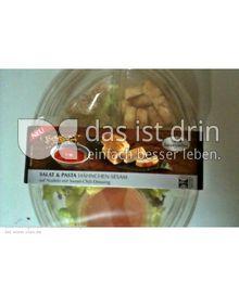 Produktabbildung: Saladinettes Salat & Pasta Hähnchen-Sesam mit Sweet Chili Dressing. 350 g