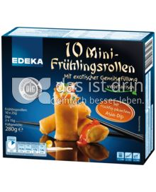 Produktabbildung: EDEKA Minifrühlingsrollen mit fruchtig-pikantem Asiadip 280 g