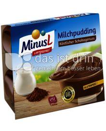 Produktabbildung: MinusL Minus L Milchpudding Schoko (4 x 125 g) 500 g