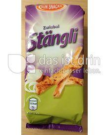 Produktabbildung: Sun Snacks Zwiebel Stängli 150 g