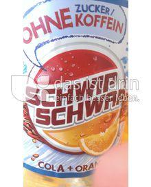 Produktabbildung: SchwipSchwap Cola+Orange ohne Zucker/Koffein 1,5 l