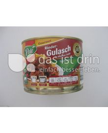 Produktabbildung: Pote Rindergulasch in pikanter Soße 500 g