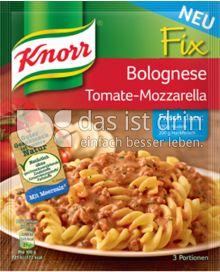 Produktabbildung: Knorr Fix Bolognese Tomate-Mozzarella