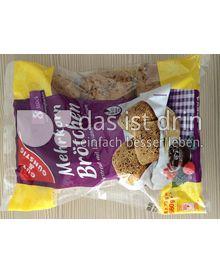 Produktabbildung: Gut&Günstig Mehrkornbrötchen 560 g