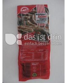 Produktabbildung: Schlütter's Echte! Nürnberger Rostbratwürste 300 g