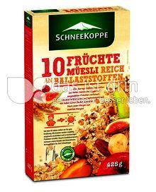Produktabbildung: Schneekoppe 10 Früchte Müesli 425 g
