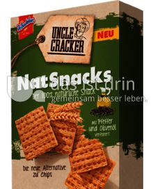 Produktabbildung: Uncle Cracker NatSnacks (Pfeffer und Olivenöl) 150 g