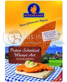 Produktabbildung: Höhenrainer Puten-Schnitzel Wiener Art 250 g