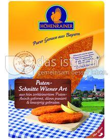 Produktabbildung: Höhenrainer Puten-Schnitte Wiener Art 300 g
