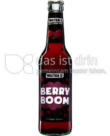 """Produktabbildung: MISTER D """"Berry Boom"""" 0,33 l"""