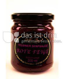 """Produktabbildung: """"Das Original"""" von Wolfram Berge Tessiner Senfsauce Rote Feige 60 ml"""