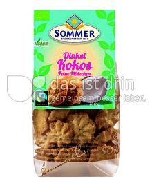 Produktabbildung: Sommer Dinkel Kokos - Feine Plätzchen 150 g
