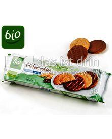 Produktabbildung: Aldi Bio Hafercookies mit Vollmilchschokolade 200 g