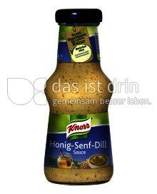 Produktabbildung: Knorr Honig-Senf-Dill Sauce 250 ml