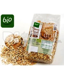 Produktabbildung: Aldi Bio Basis Müsli 5-Kornmix 750 g