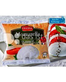 Produktabbildung: Cucina Mozzarella Classico 125 g