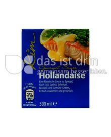Produktabbildung: Kim Gourmet Sauce Hollandaise 300 ml
