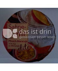 Produktabbildung: elite Sahne Kefir mild Pfirsich Maracuja 250 g