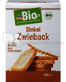 Produktabbildung: dmBio Dinkel Zwieback 200 g