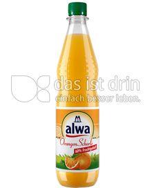 Produktabbildung: Alwa Orangen-Schorle 60% Fruchtgehalt 0,75 l