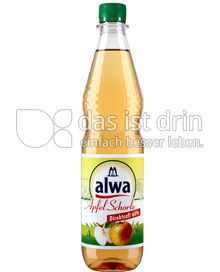 Produktabbildung: Alwa Apfel Schorle Direktsaft 60% 0,75 l