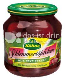 Produktabbildung: Kühne Schlemmertöpfchen Rote Bete Kugeln 580 ml