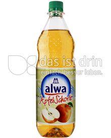 Produktabbildung: Alwa Apfel Schorle 1 l