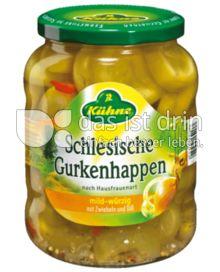 Produktabbildung: Kühne Schlesische Gurkenhappen 720 ml