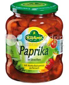 Produktabbildung: Kühne Paprika in Streifen 370 ml