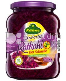 Produktabbildung: Kühne Rotkohl Der Schnelle 370 ml