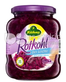 Produktabbildung: Kühne Rotkohl Der Leichte 370 ml