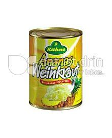 Produktabbildung: Kühne Ananasweinkraut 580 ml