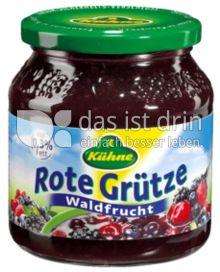 Produktabbildung: Kühne Rote Grütze Waldfrucht 500 g