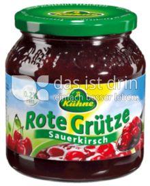 Produktabbildung: Kühne Rote Grütze Sauerkirsch 500 g