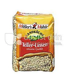 Produktabbildung: Müller`s Mühle Teller-Linsen 500 g