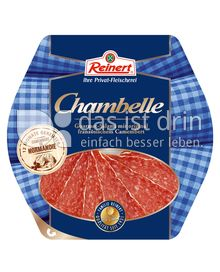 Produktabbildung: Reinert Chambelle Gourmet-Salami 80 g