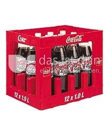 Produktabbildung: Coca-Cola Coke Light 12 l