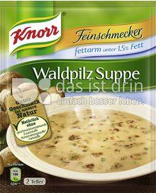 Produktabbildung: Knorr Feinschmecker Waldpilz Suppe fettarm 500 ml