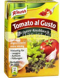 Produktabbildung: Knorr Tomato al Gusto Kräuter-Knoblauch 370 g