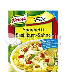 Produktabbildung: Knorr Fix Spaghetti Basilikum-Sahne 42 g