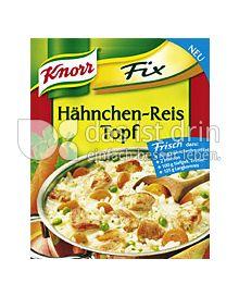 Produktabbildung: Knorr Fix Hähnchen-Reis Topf 69 g